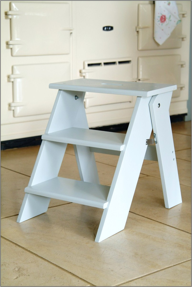Kitchen Decorated Step Stool