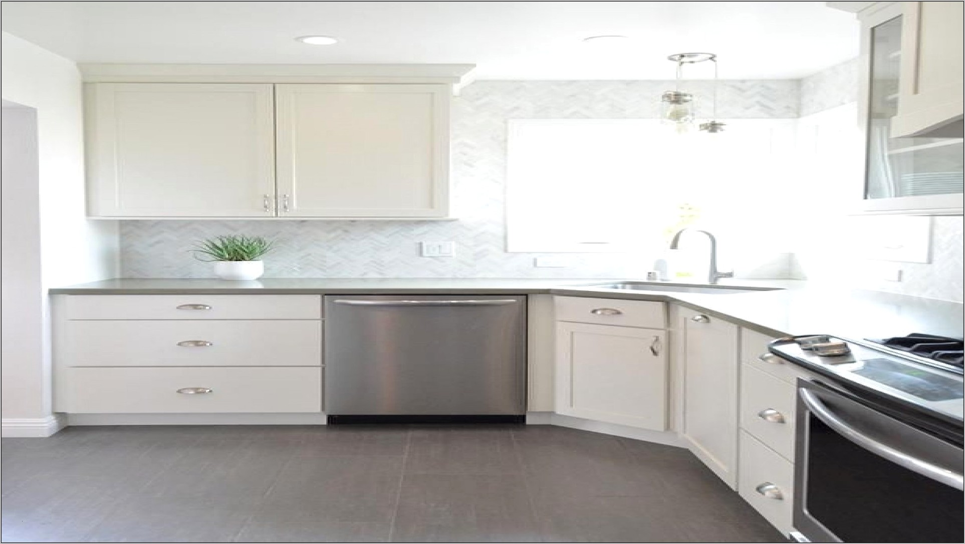 Kitchen Decorating Grey And