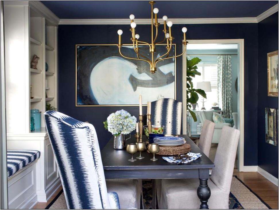 Kitchen Decorating Ideas Indigo Blue Red