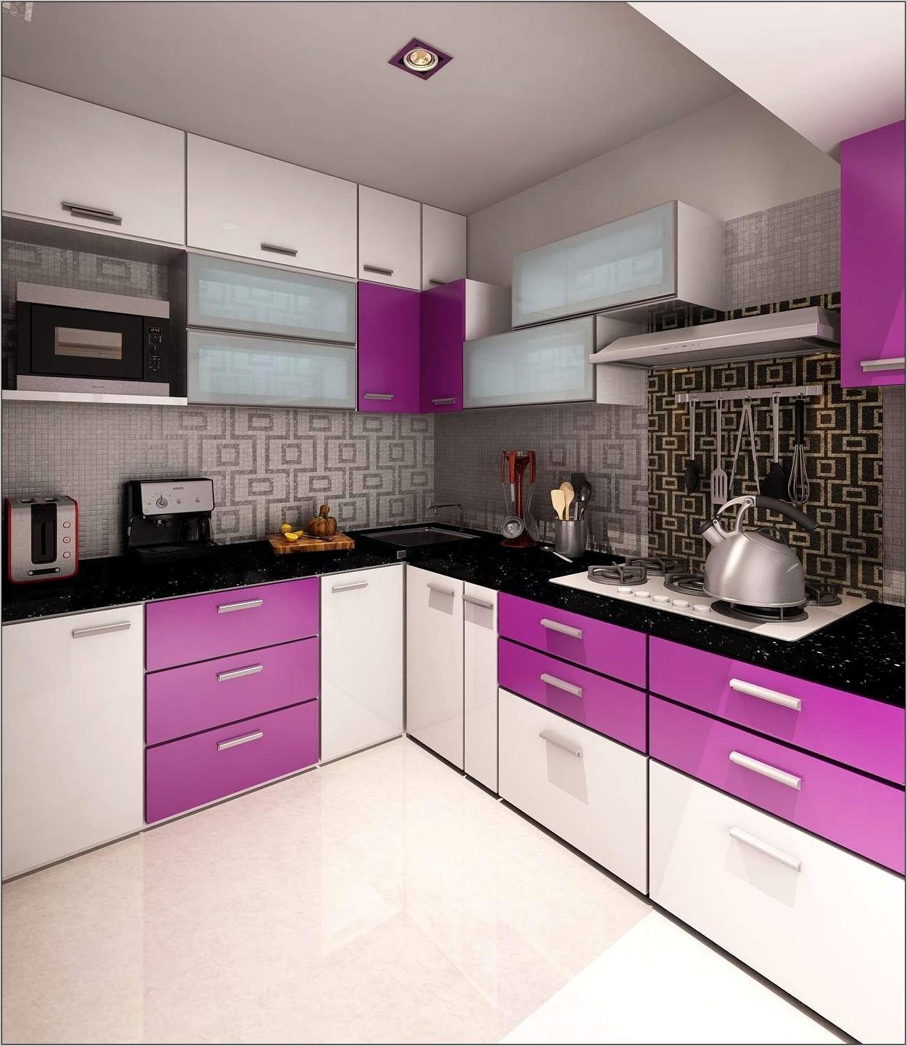 Kitchen Decorating Ideas Purple
