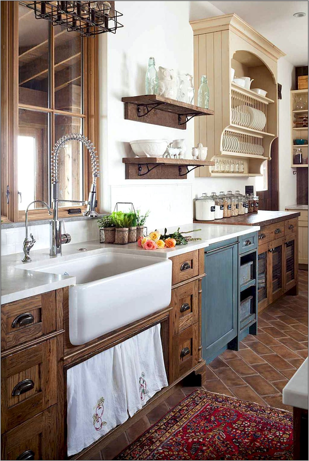 Kitchen Decorating Ideas Rustic