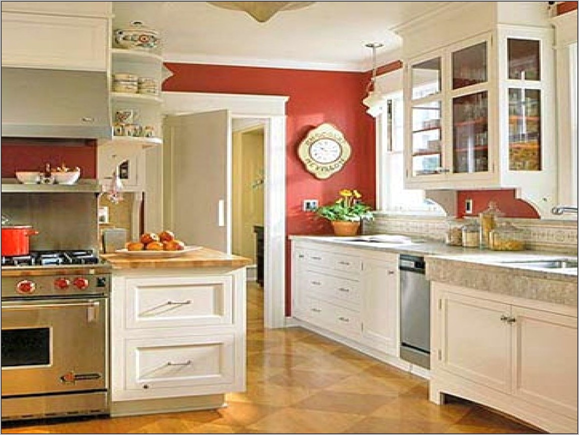 Kitchen Decorating Ideas With Red Accents
