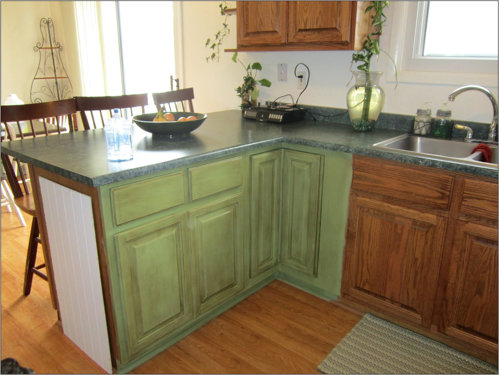 Kitchen Decoration Dark Green