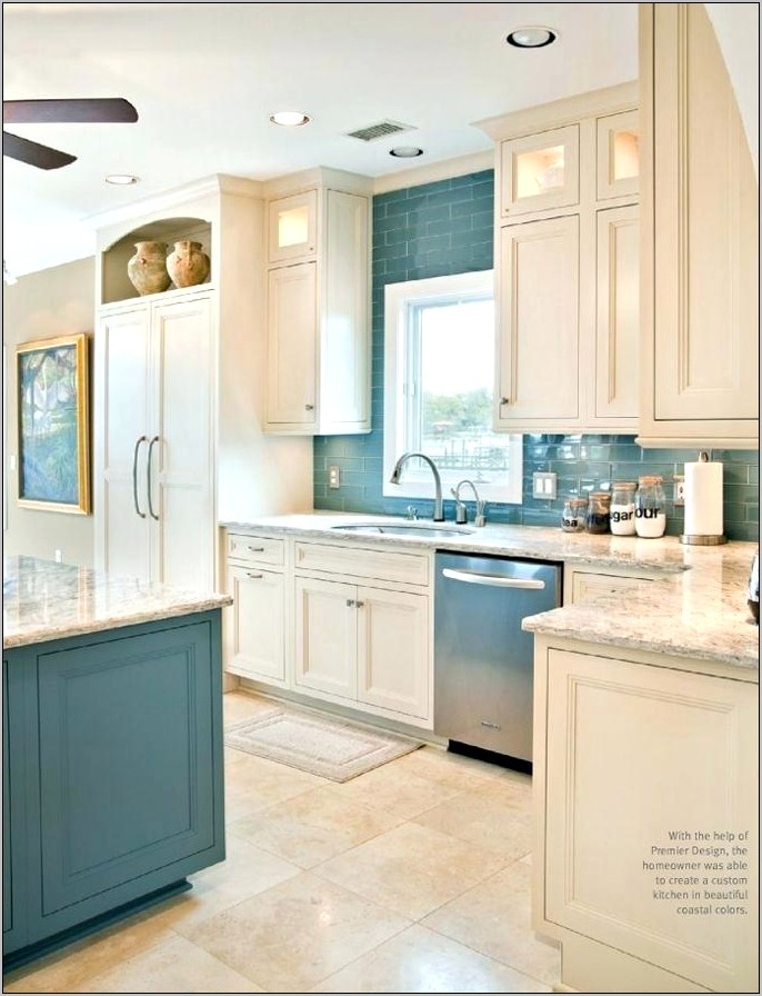 Kitchen Decoration With White Cabinets