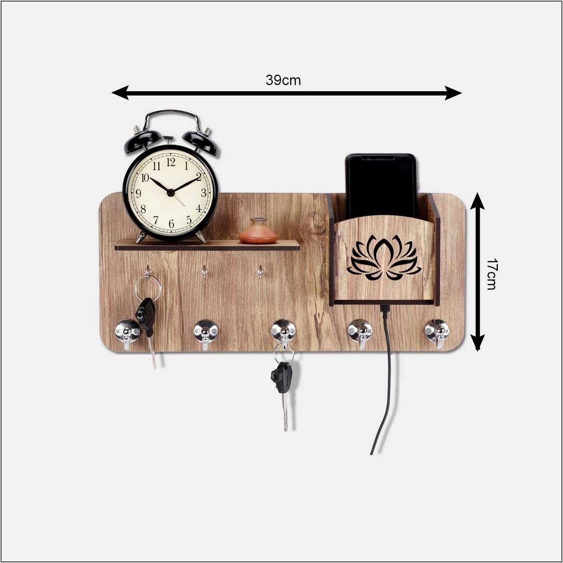 Kitchen Decorative Key Rack With Hooks