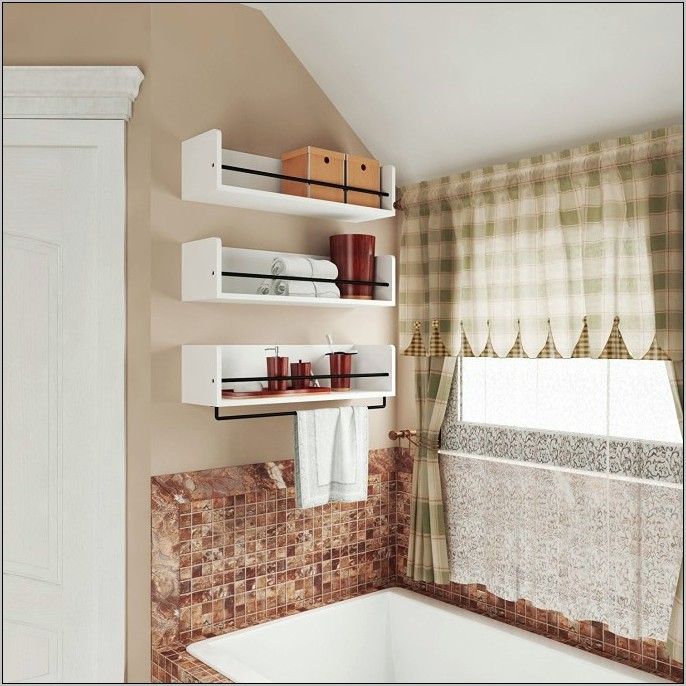 Kitchen Decorative Shelves Above Cabinets