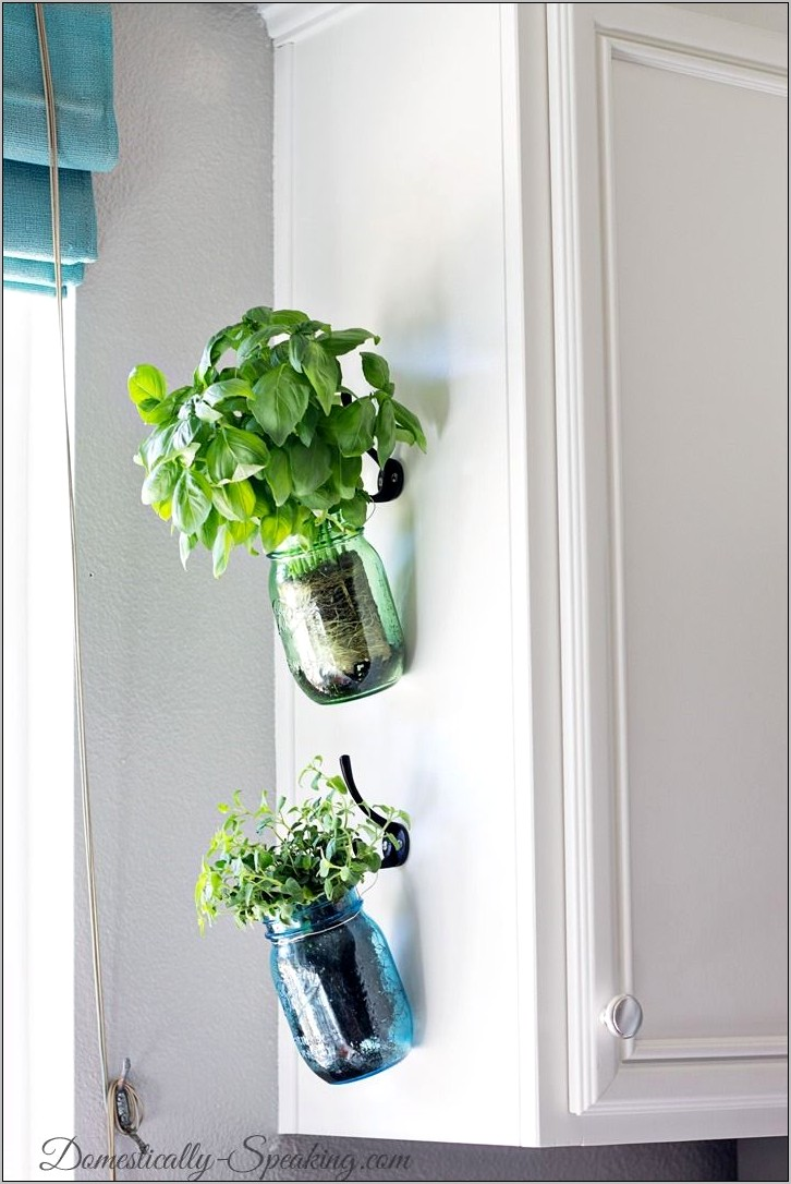 Kitchen Diy Herb Decor