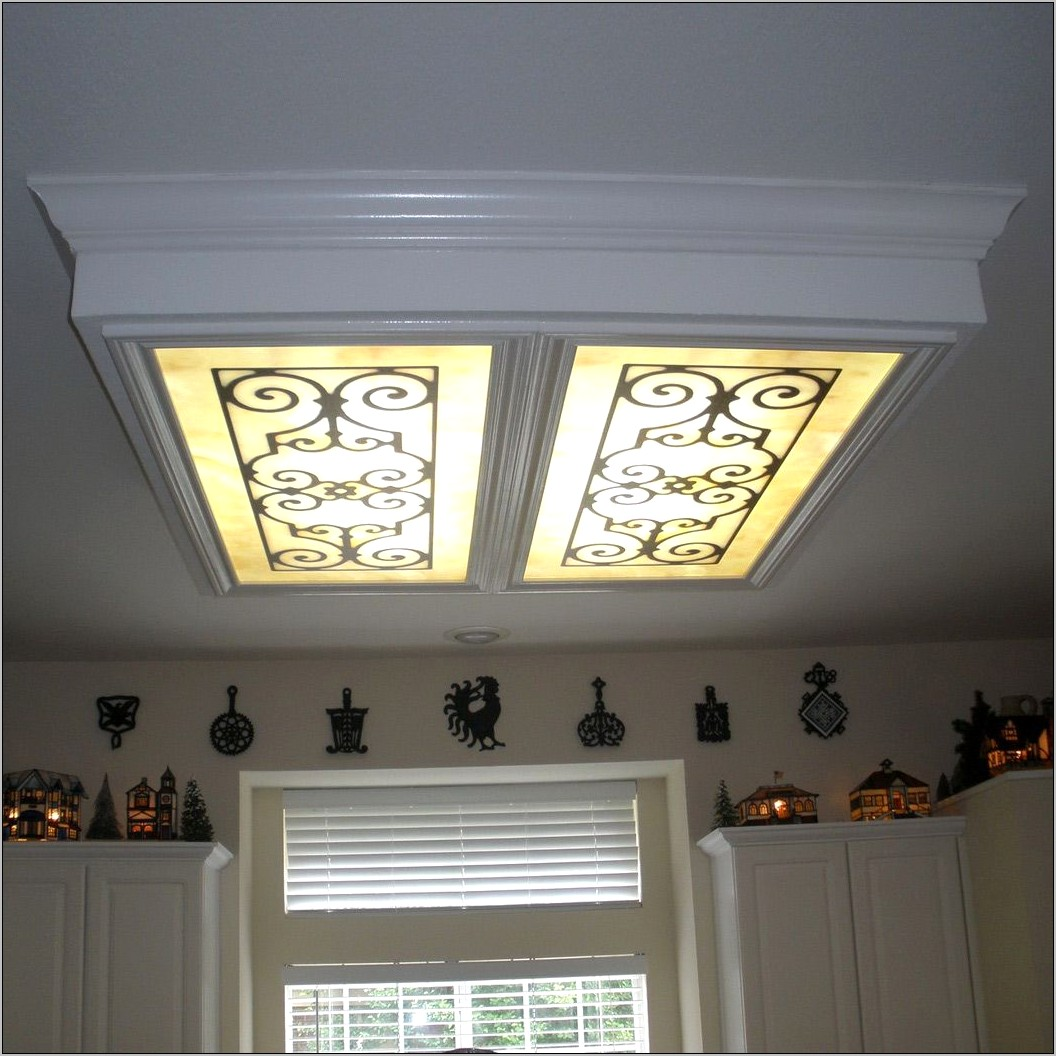 Kitchen Fluorescent Light Fixtures Decorative