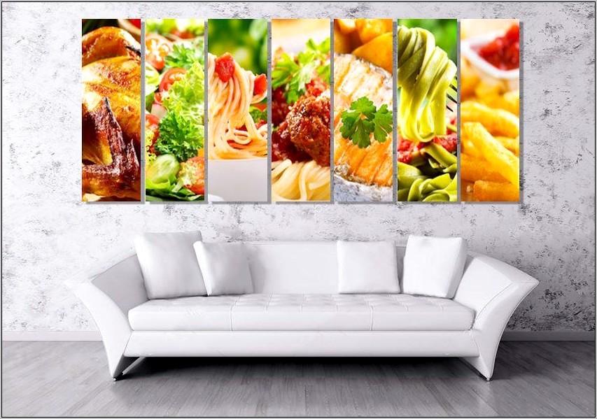Kitchen Food Wall Decor