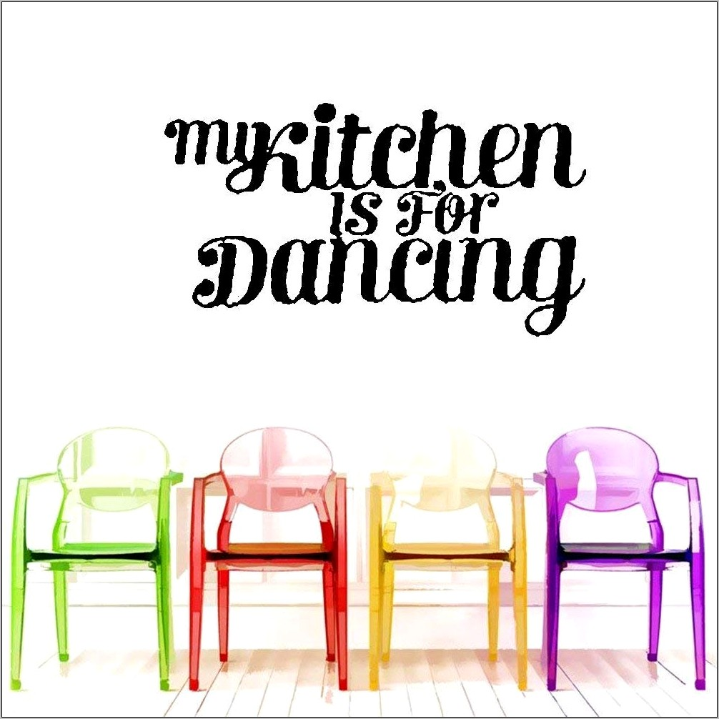 Kitchen Is For Dancing Decorations