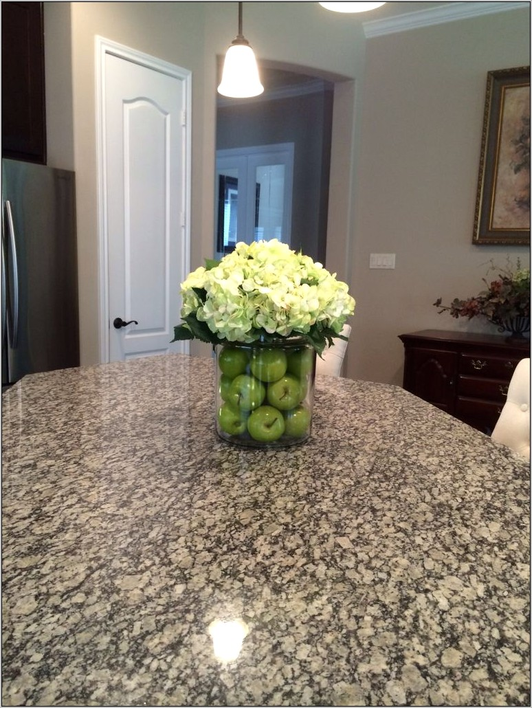 Kitchen Island Centerpiece Decor