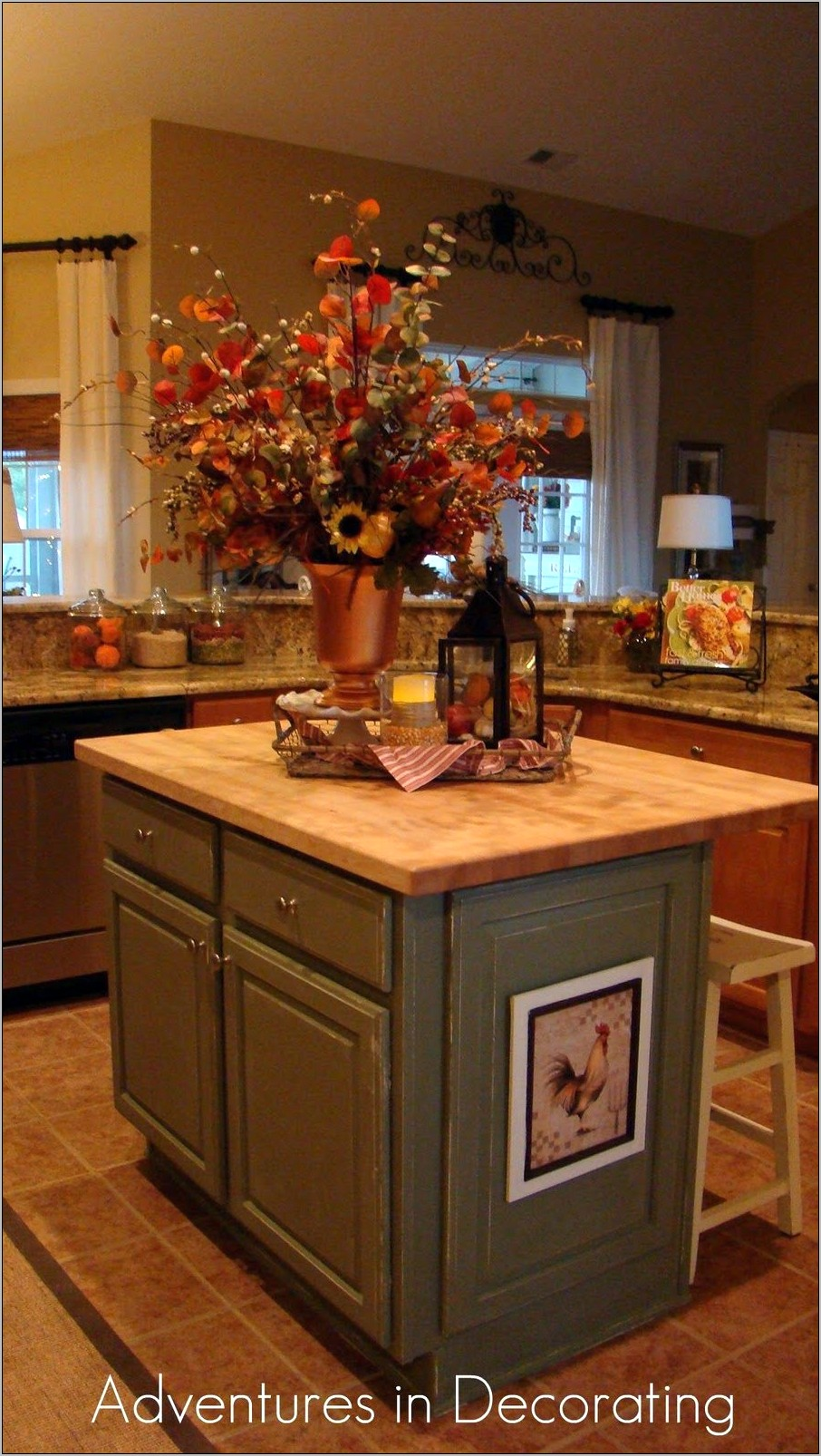 Kitchen Island Decor For Fall