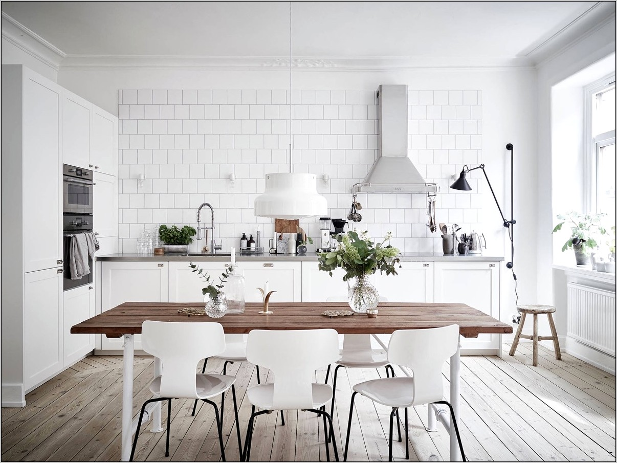 Kitchen Island Scandinavian Decorating Ideas
