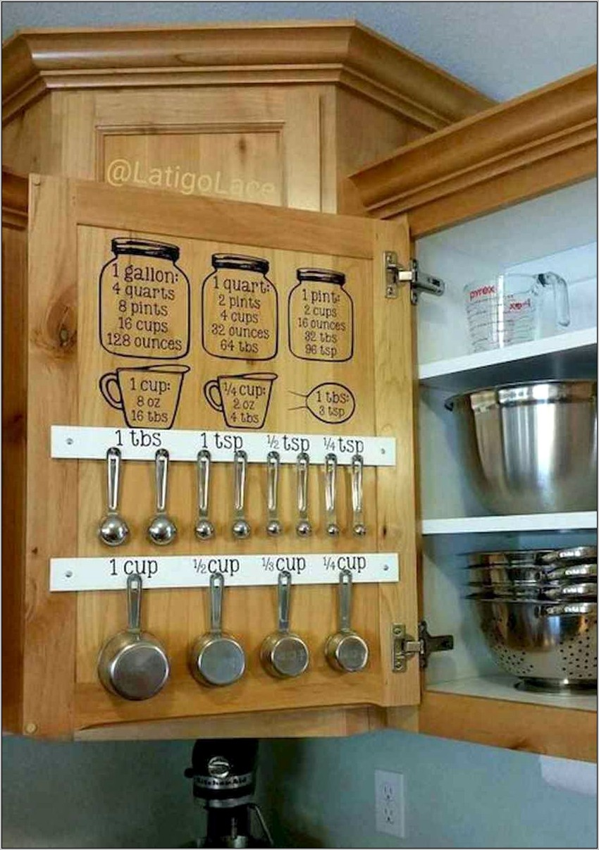 Kitchen Organization And Decor