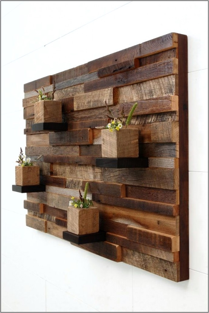 Kitchen Pallet Wall Decor