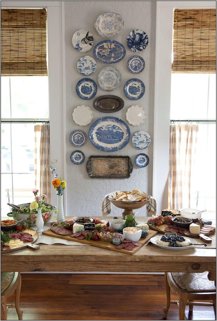 Kitchen Plate Wall Decor