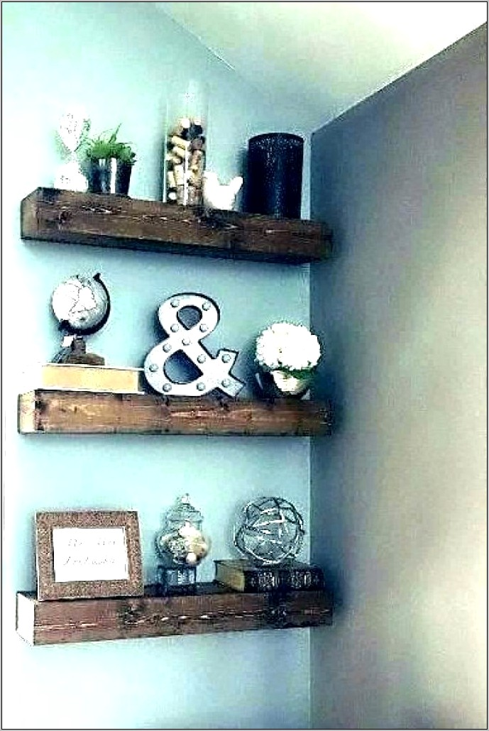 Kitchen Pot Shelves Decorating Ideas