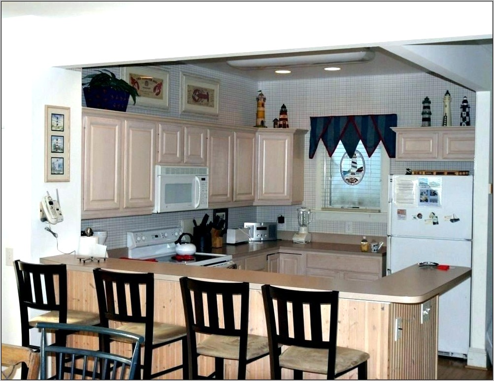 Kitchen Raised Bar Decor Ideas