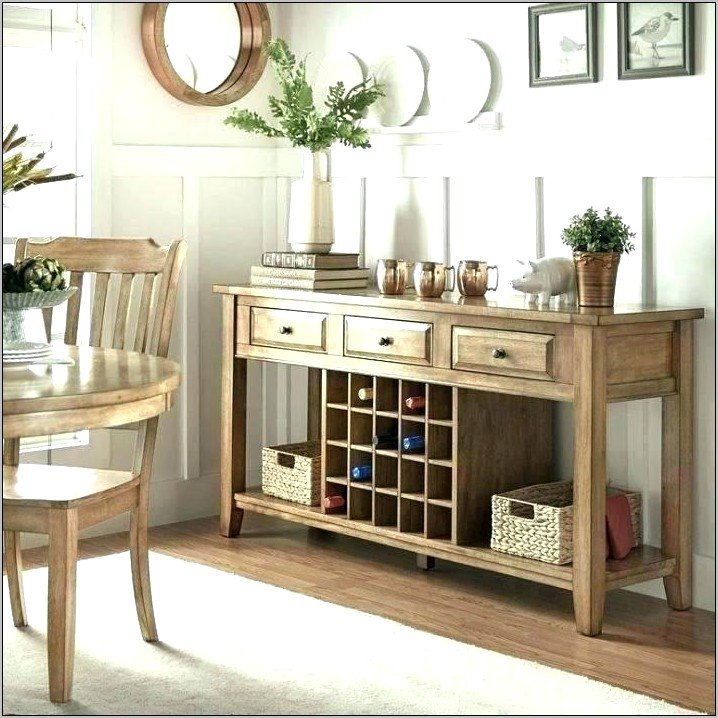 Kitchen Sideboard Decorating With Photos