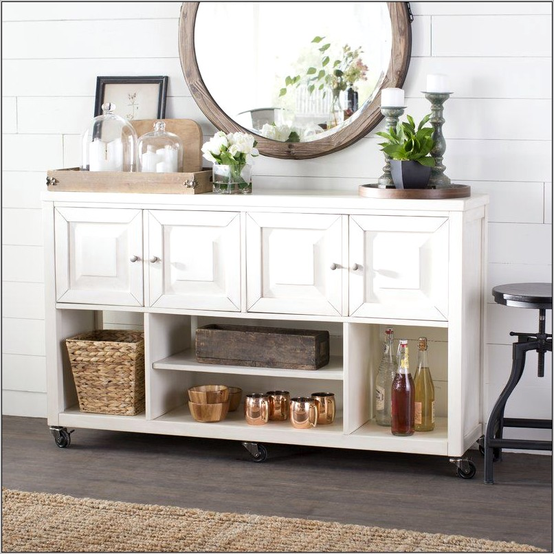Kitchen Sideboard Table Decor