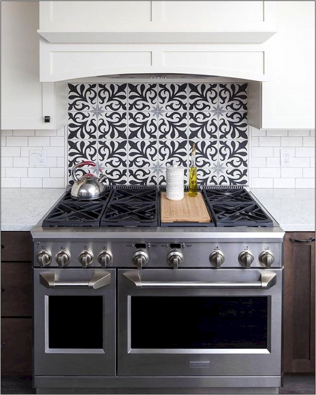 Kitchen Stove Decorating Ideas
