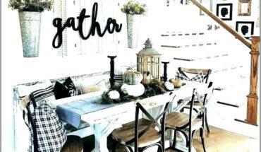 Kitchen Table Top Decor Ideas