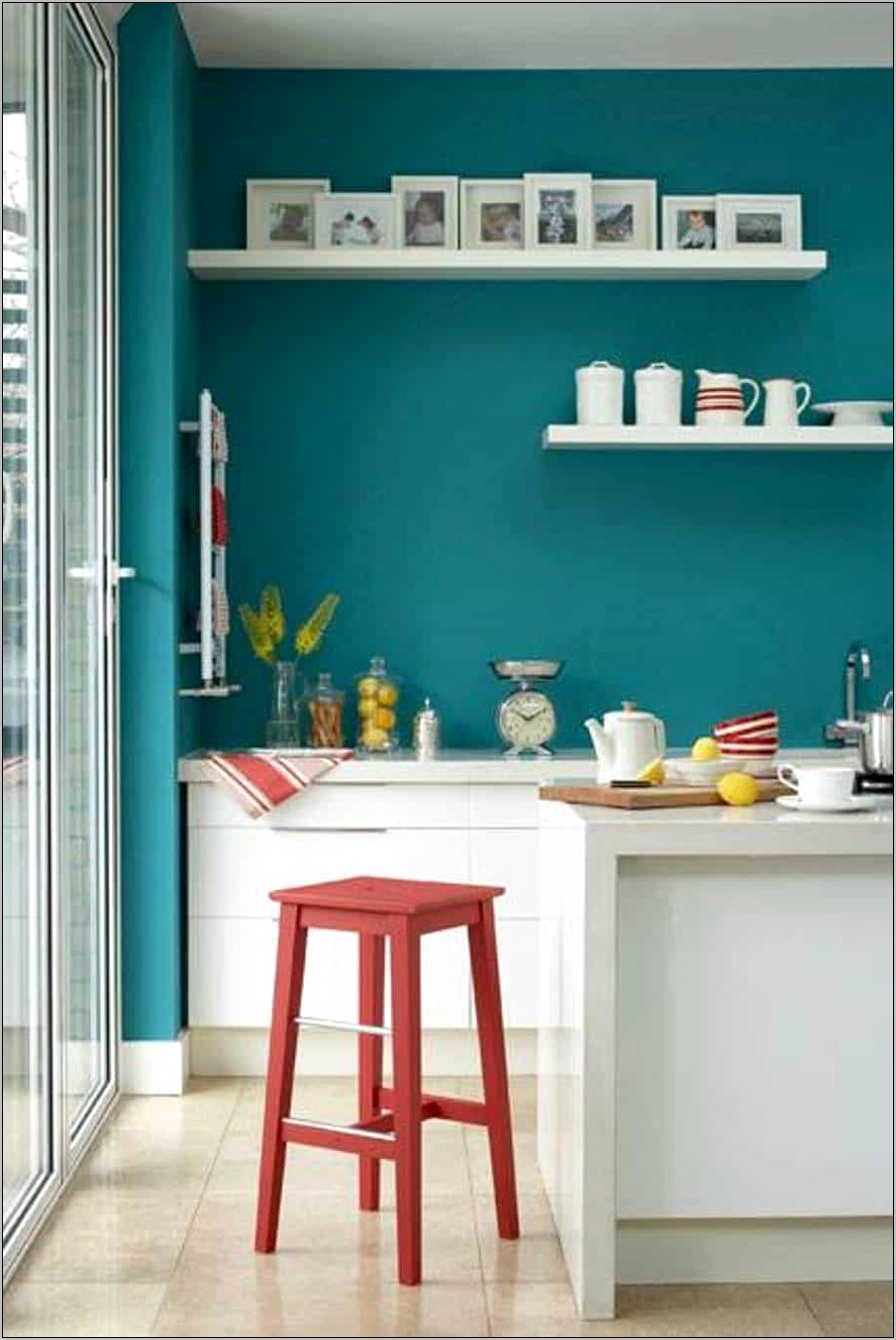 Kitchen Teal Decorating Ideas