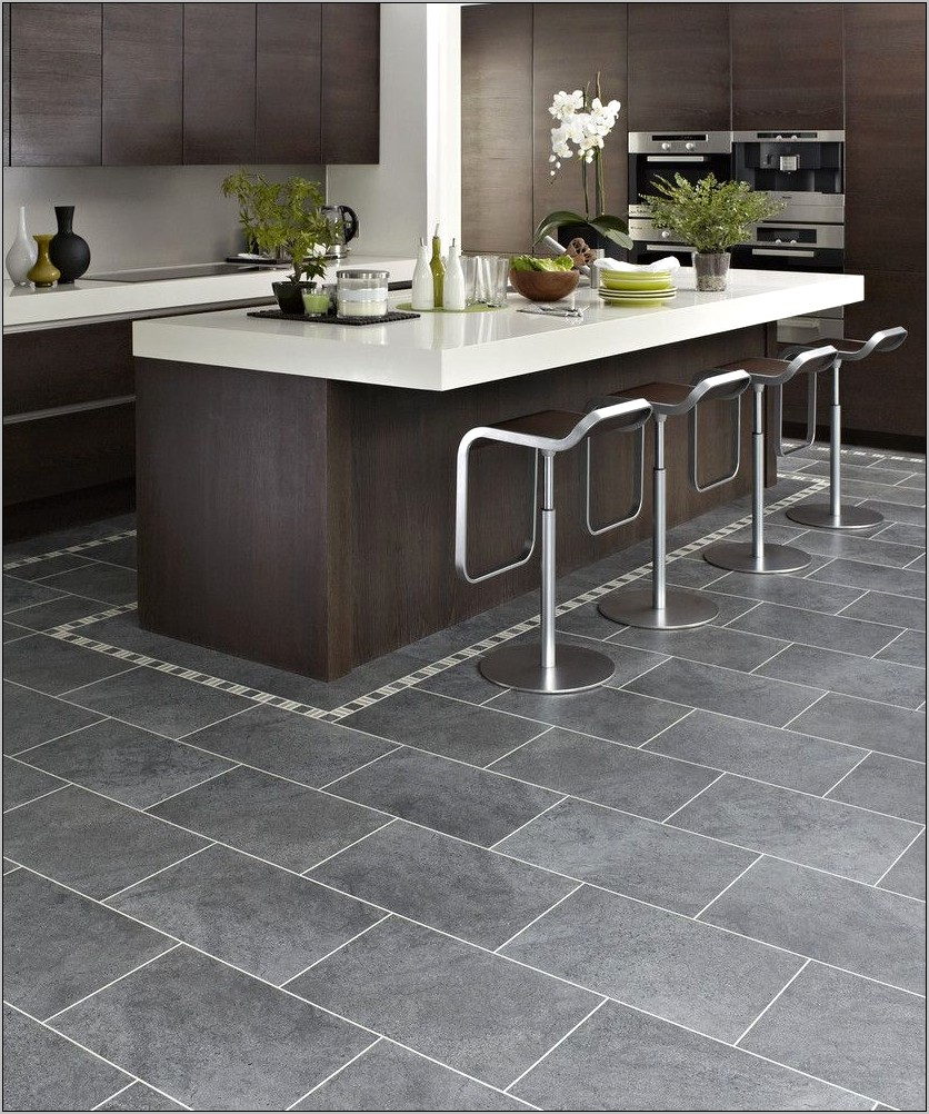 Kitchen Tile To Match Gray Floor Decor