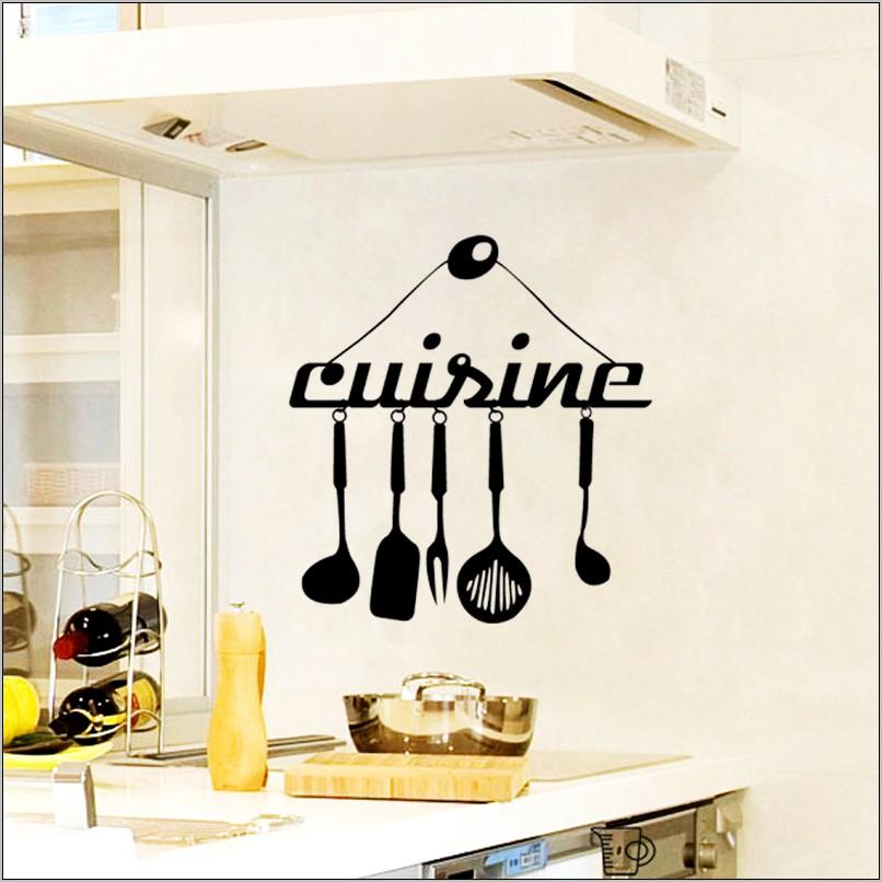 Kitchen Utensils Wall Decoration