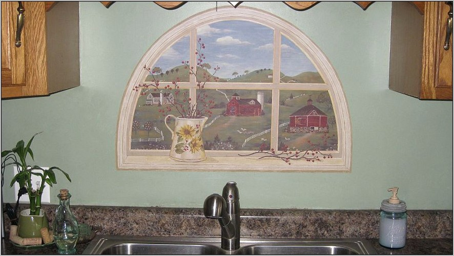 Kitchen Wall Decor Above Sink
