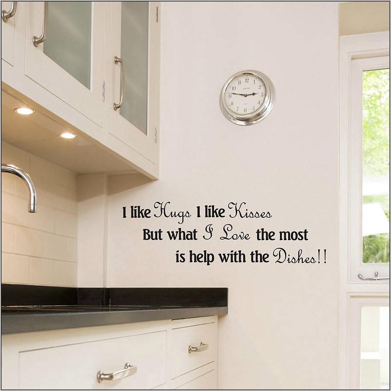 Kitchen Wall Decor Decals