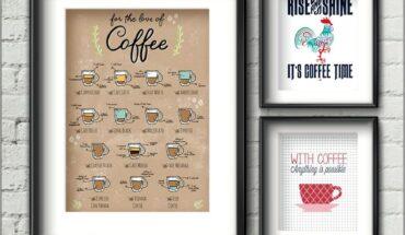 Kitchen Wall Decor Printable