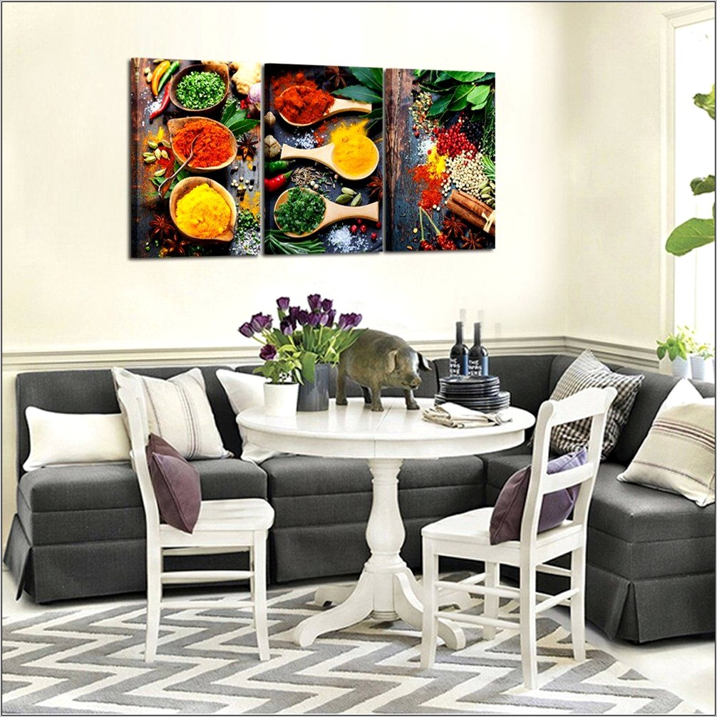 Kitchen Wall Decor Spices