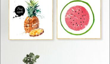 Kitchen Watermelon Wall Decor