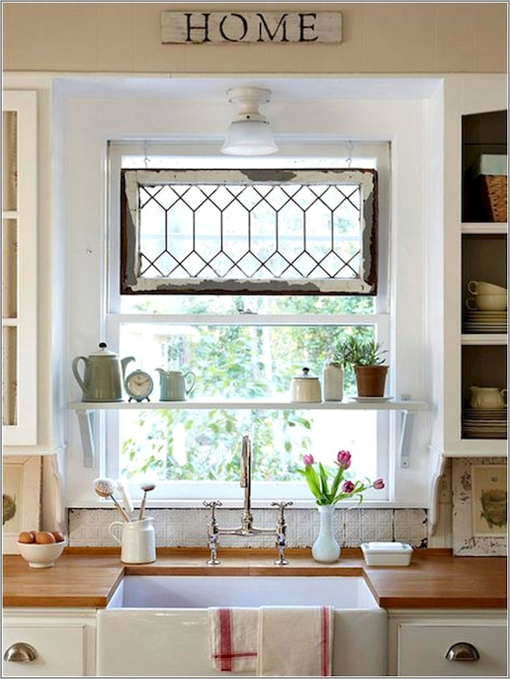 Kitchen Window Ideas Decor