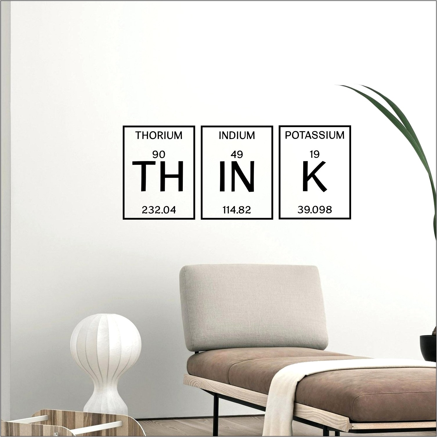Kitchen Word Decor Periodic Table
