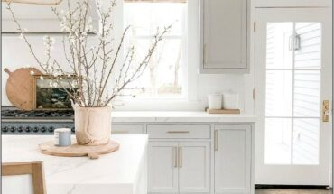 Kitchens Decorated In Gray