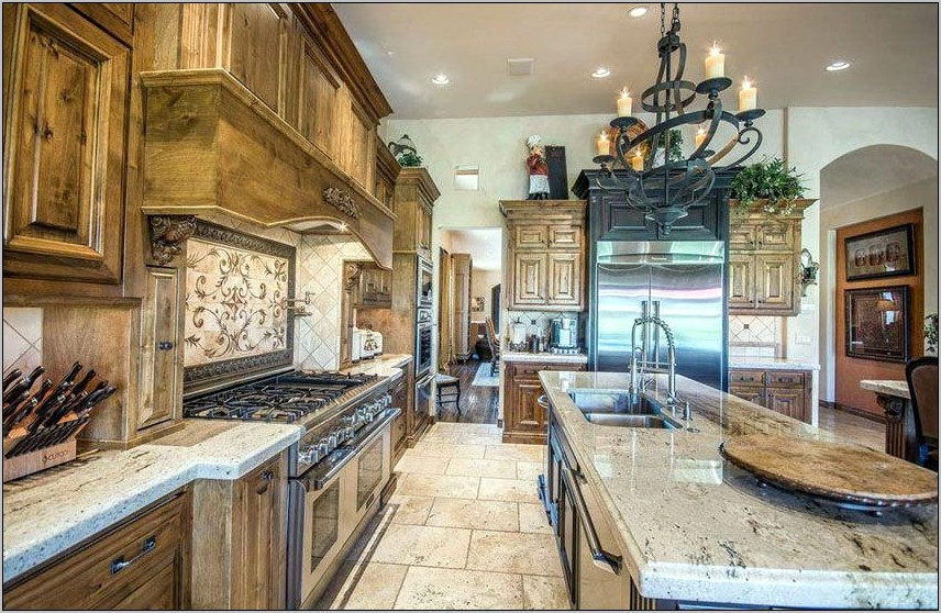 Kitchens With Decorative Backsplash