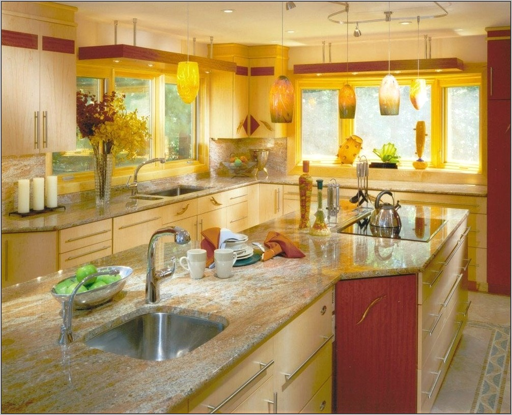 Kitchens With Yellow Decor