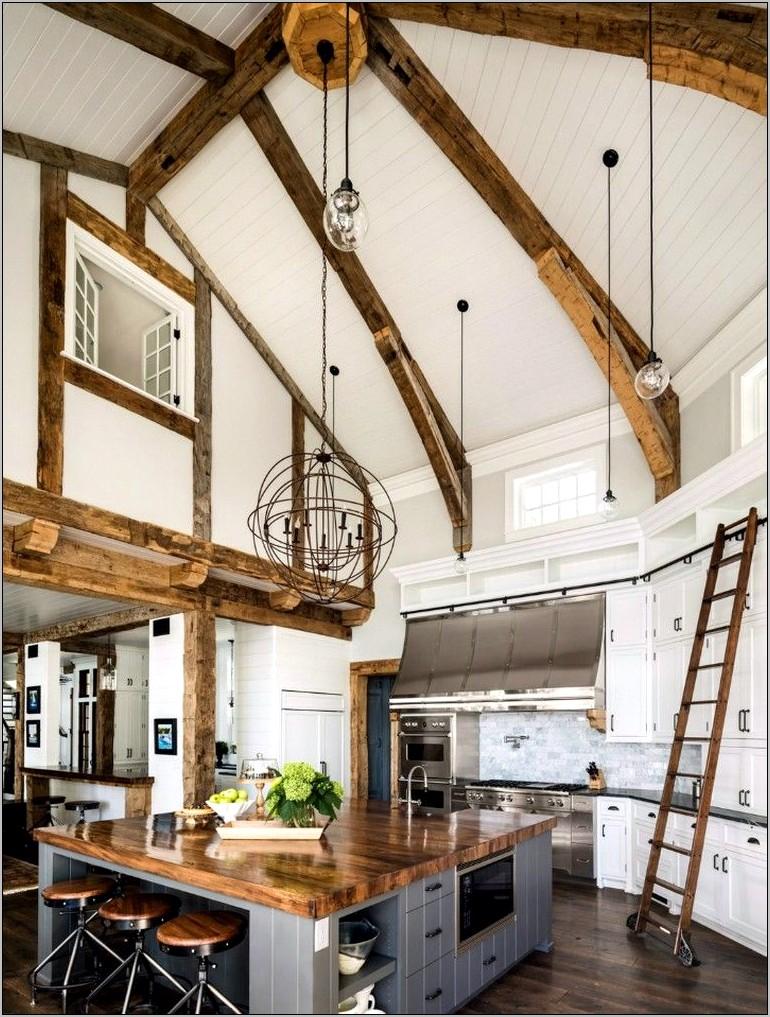 Lake Rustic Kitchen Decor