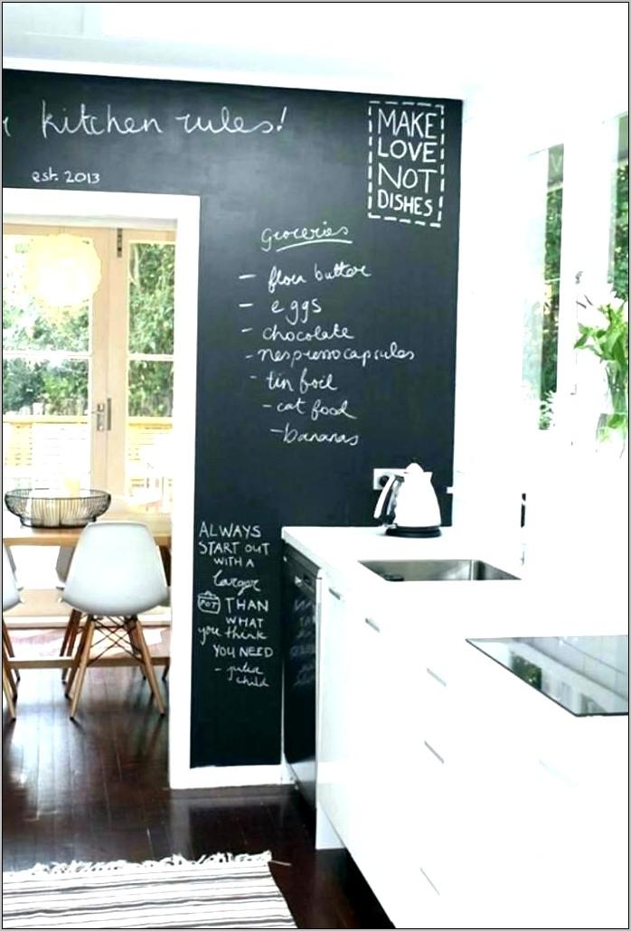 Large Decorative Chalkboard For Kitchen