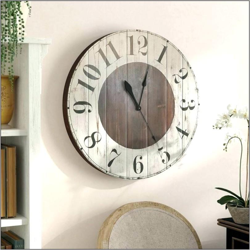Large Decorative Kitchen Wall Clocks