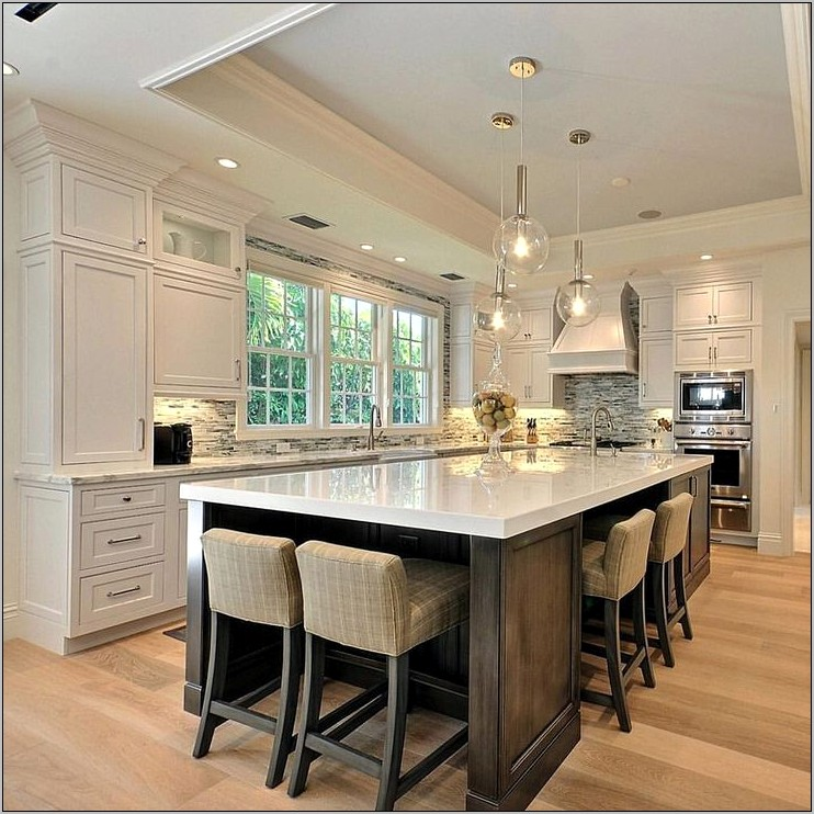 Large Kitchen Island Decor