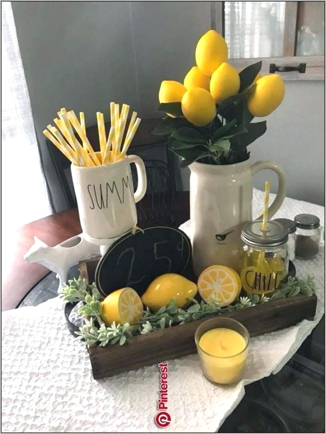 Lemon Kitchen Decor Amazon