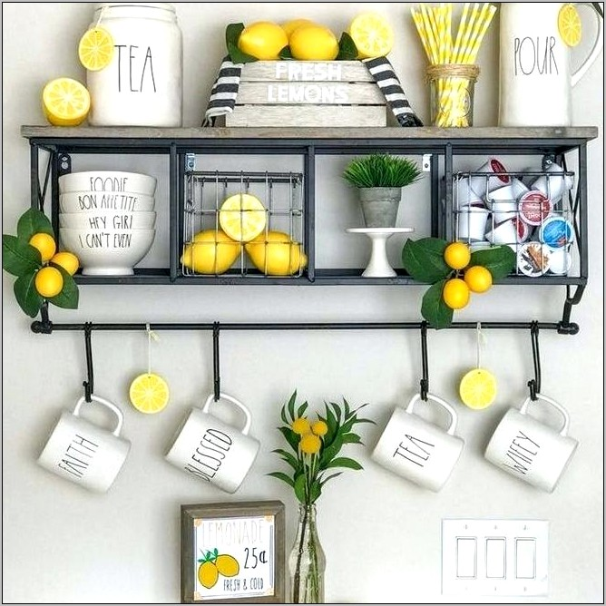 Lemon Kitchen Decor Dollar General