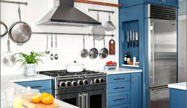 Lemon Yellow And Grey Decor Kitchen
