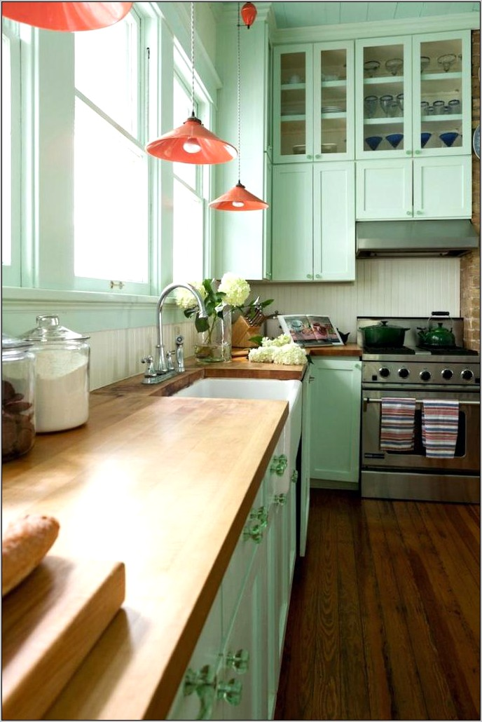 Lemon Yellow Kitchen Decor