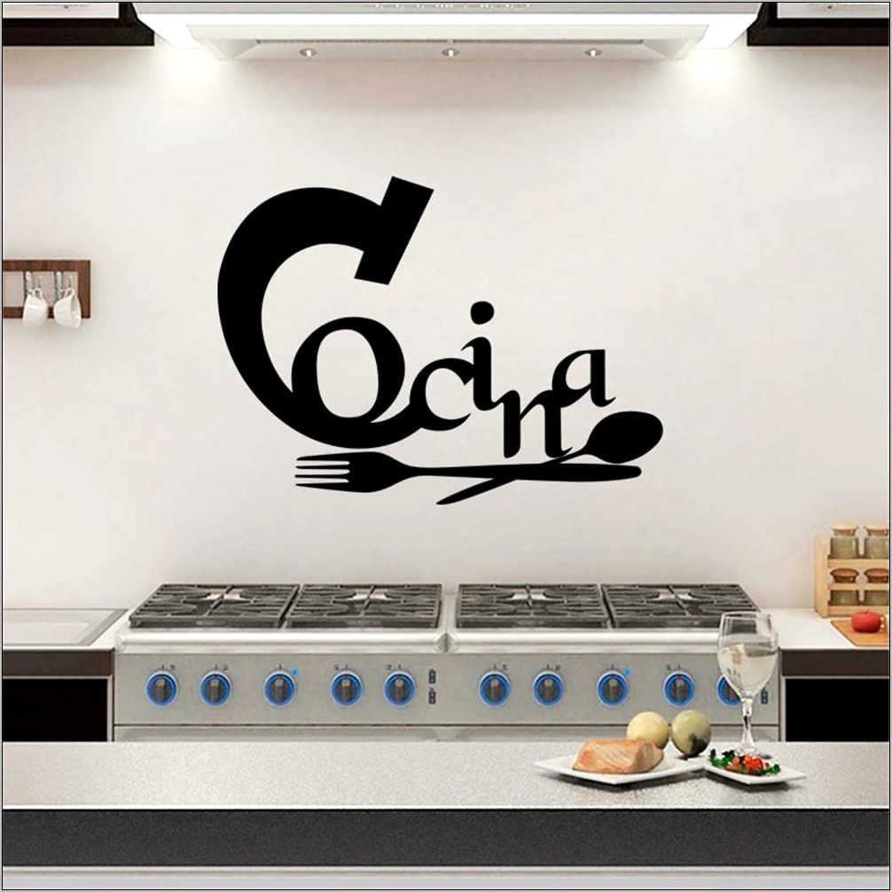 Lettering For Decoration In Kitchen Amazon