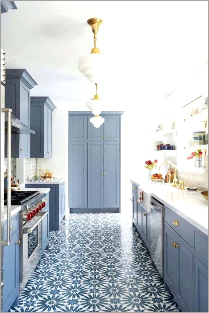 Light Blue And Yellow Kitchen Wall Decor