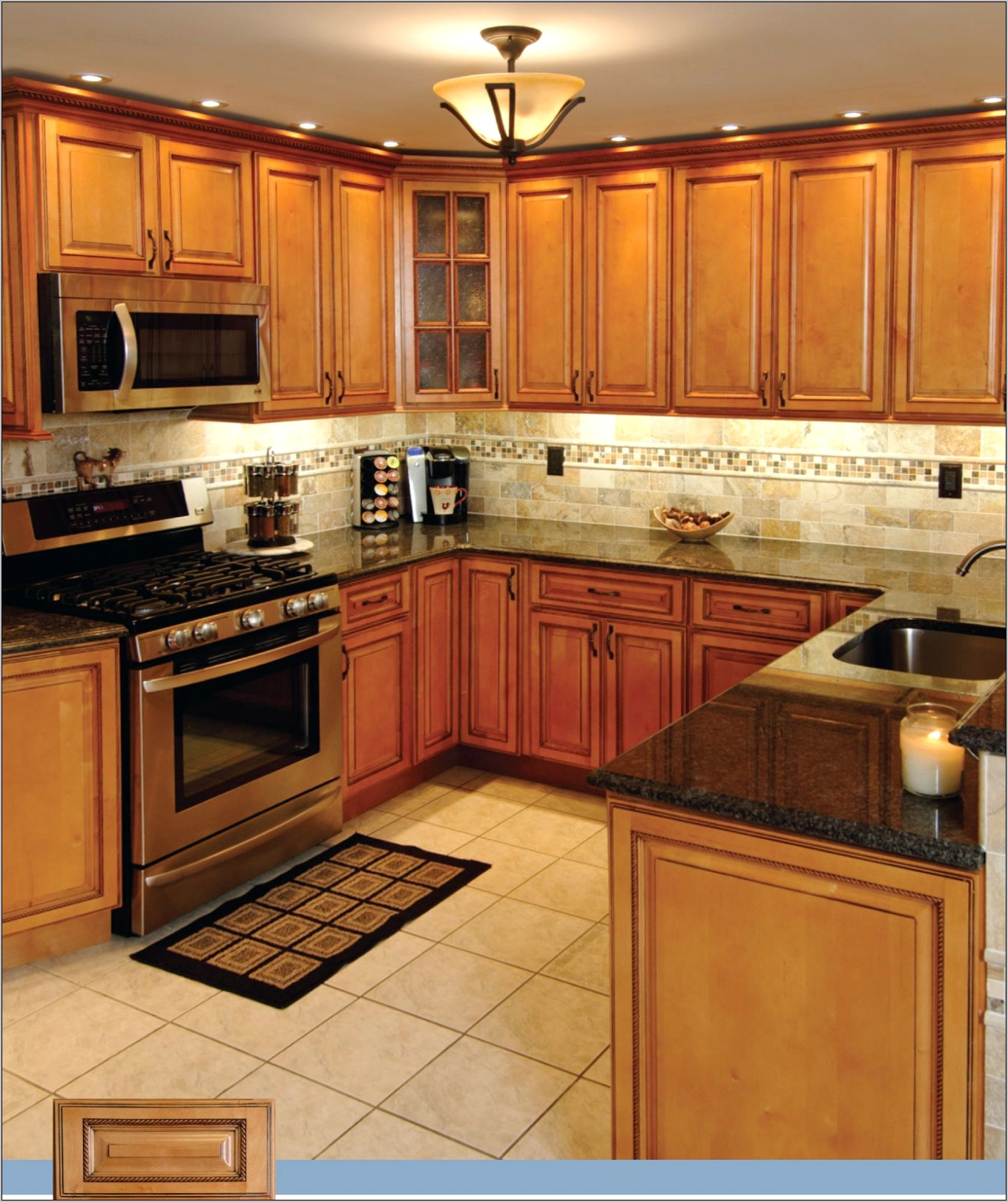 Light Brown Kitchen Decor